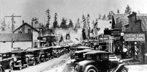 1931 Olympic Highway opening in Forks.
